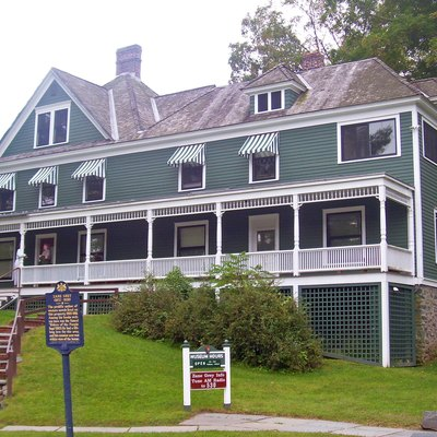 Home of writer Zane Grey from 1905–1918, in Lackawaxen, PA, USA. Now a museum dedicated to his life and work.