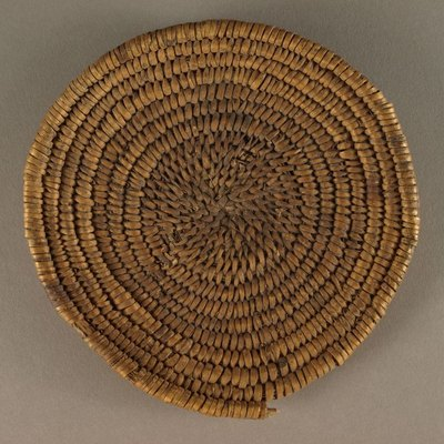 Basketmaker II basket specifimen from AD 1 to 700 from the Zion National park