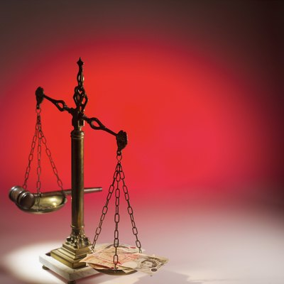 The amount of money the government can take varies, but it does not require a court decree.