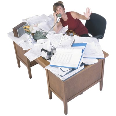 Organizational problems cause unnecessary work for employees.