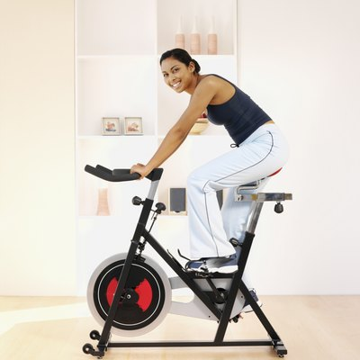 Stationary bikes are easy to use and convenient.
