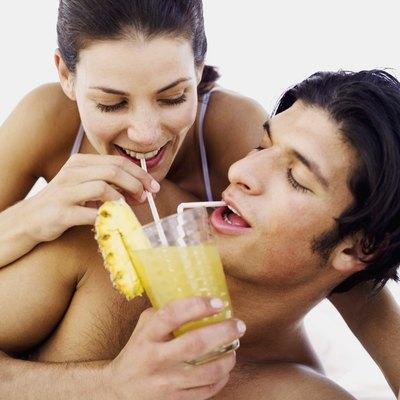 Pineapple juice is rich in vitamin C, B vitamins and bromelain.