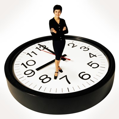 Being punctual shows that you take your job seriously.