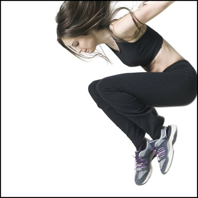 Plyometric training can help to improve how high you can jump