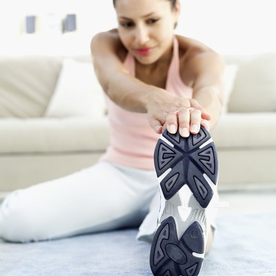 Stretches don't help you burn as many calories as cardio exercises.