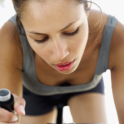 Elite cyclists monitor their cadence in rpm.