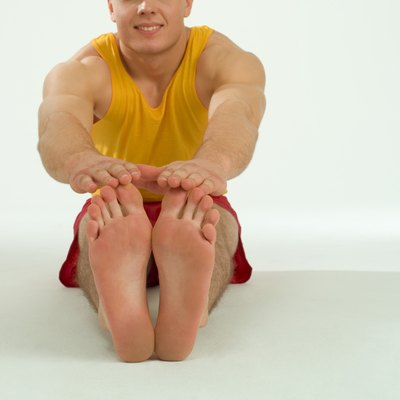 Regularly performing hamstring stretches increases hamstring flexibility.