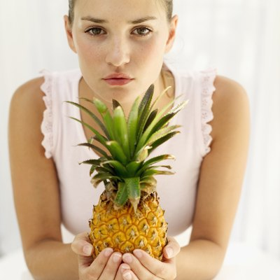 Pineapple is rich in antioxidants and B-complex vitamins, but it's also high in sugar.