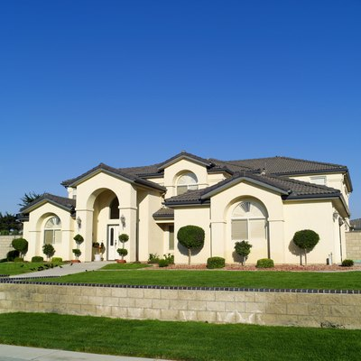 Jumbo loans often finance very large houses.