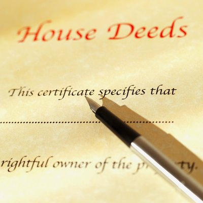 A deed transfers ownership to you after the co-owner signs it.