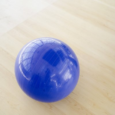 Medicine balls can weigh up to 50 pounds and come in various sizes.