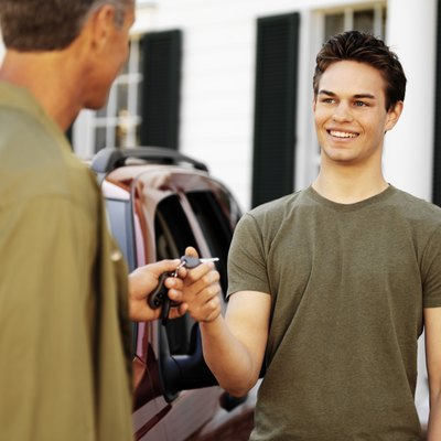 A co-signer can help you get a car loan.