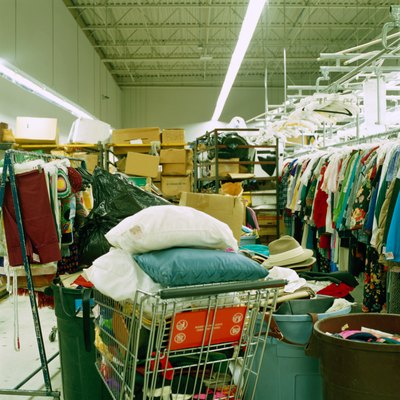 The IRS recommends using thrift store prices to determine the value of donations.