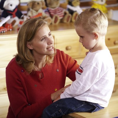 Developmental specialists work with infants and children with developmental delays.