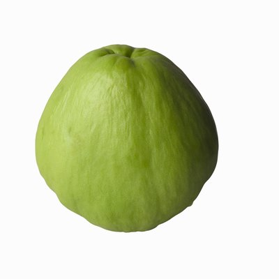 Although technically a fruit, chayote is usually used like a vegetable.