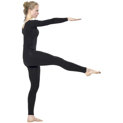 Leg lifts held for several seconds isometrically exercise your thigh muscles.