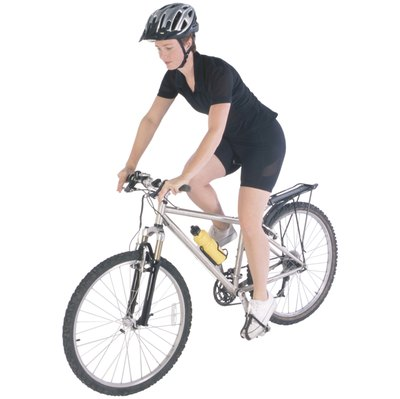 Cycling burns calories and tones muscle.