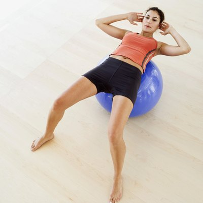 Your exercise ball is an awesome tool for building oblique strength.