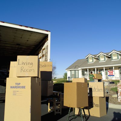 Moving supplies and a truck are part of the expenses you can expect.