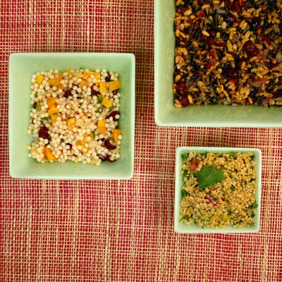 Use Israeli couscous in salads or as a bed for braised dishes.