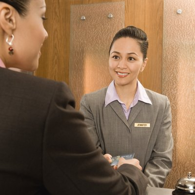 A hotel concierge can help make your stay more enjoyable.