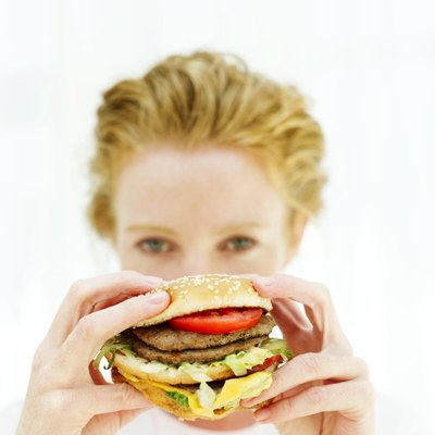 Refined grains, fatty meats and sweets can increase abdominal weight gain.