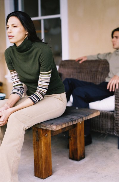 Can you live together after legal separation