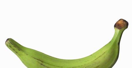 Beneficios para la salud del plátano verde | Muy Fitness
