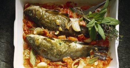 Puedes hornear pescado congelado muy fitness - Cocinar pescado congelado ...