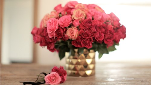 The Ombre Rose Arrangement
