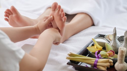 How to Locate the Reflexology Kidney Zone