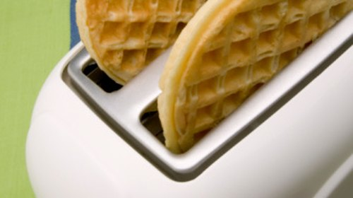 Perfect Way to Toast Waffles