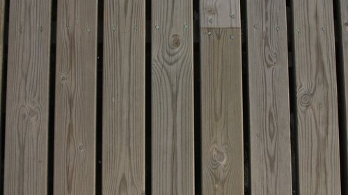 <p>The gaps between deck boards allow in insects.</p>