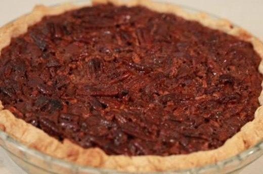 Bourbon-Chocolate-Pecan Pie