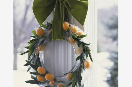 Iced Wreath