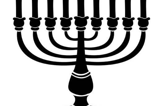 Download and Print Menorah Template