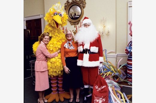 Betty Ford's Ode to Big Bird