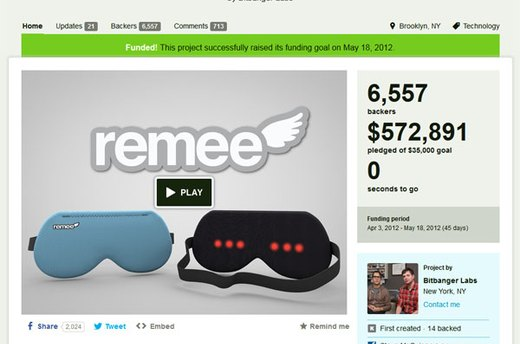 Remee -- The REM Enhancing Lucid Dreaming Mask