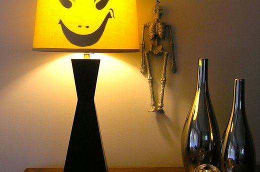 Spooky Lampshade