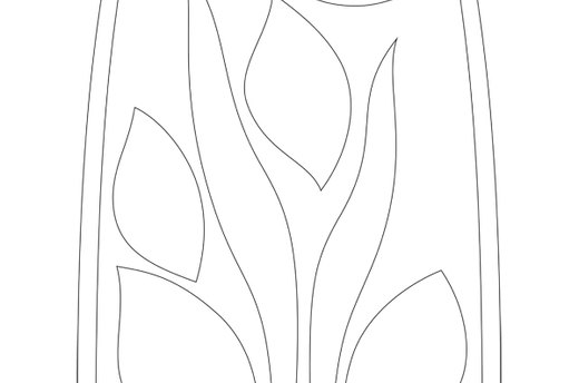 Download the Leaves and Stems Template