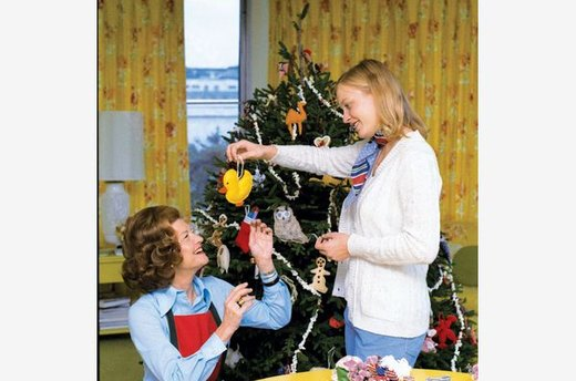 Betty Ford's Homemade White House Christmas