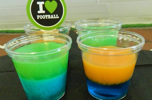 Super Bowl Jelly Shots