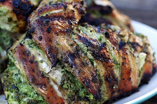Slashed Grilled Chicken