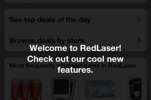 RedLaser (iOS, Android, Windows Phone; free)