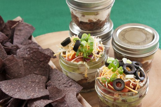 Personal-Sized Seven Layer Dip