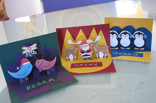 Get Crafty: Christmas Place Cards