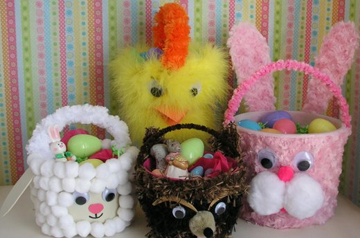 Bucket Easter Baskets