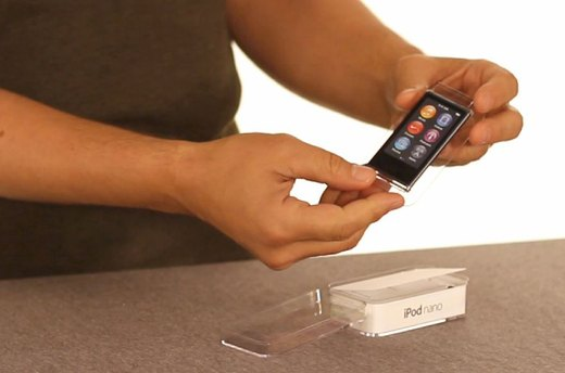 Unboxing the iPod Nano