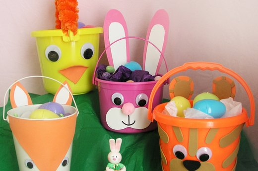 Easter Baskets Kids Can Make