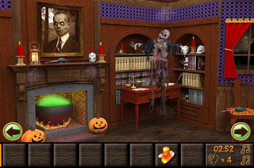 Play a Halloween Adventure Game